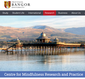 BANGOR  study student  Centre for Mindfulness Research and Practice